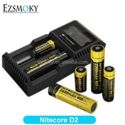 NITECORE D2 Digi Charger LCD Display Universal Intelligent Nitecore D2 Charger For Li-ion &Ni-MH battery
