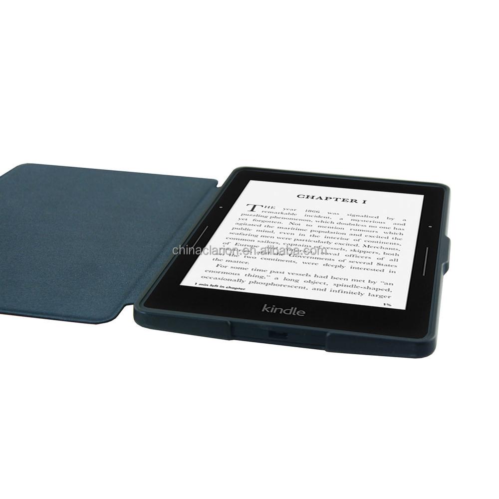 Carteira caso PU couro para Kindle fire HDX 7 '' Amazon Stand Case