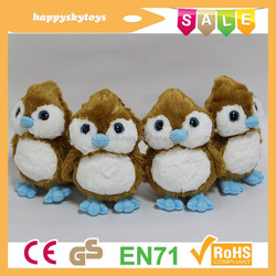 Delicate kids doll toys!!! promotional birds doll toy for kids ,plush little birds doll toy