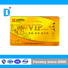 Promotional Contact IC VIP Card, PVC Contact Smart Card with ISSI4442