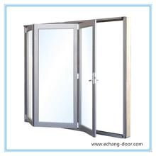 Echang brand double glass aluminum sliding window with 10 year warranty