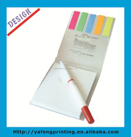 2014 HOT customised small notepad with pen
