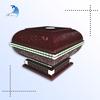 Custom design unique eco-friendly solid wood box design for cigarette