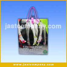 Music Custom Printed Logo Christmas Paper Shopping Bag