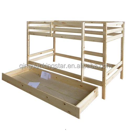 Modern wooden double deck bed designs ks bb04 buy double for Double deck bed images