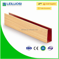 2015 Cost price aluminum material baffle ceiling system