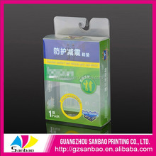 Customized eco soft clear plastic box with lid for health care products