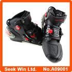 Motos de velocidade preto Motocoss Botas de protecção tornozelo Motobike estrada de motociclista respirável Botas