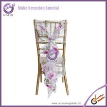 #17937 Wedding decor for purple wedding chair covers