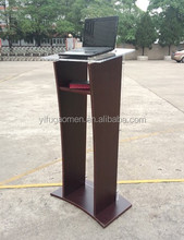 Hotsale Solid Oak Wood Church Lectern And Podiums