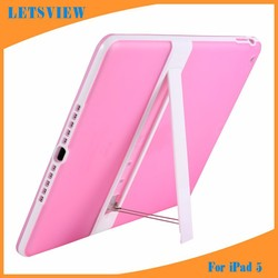 2015 New TPU+PC OEM Smart Cover Case for iPad 5 & iPad Air