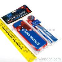Stationery set including pencil case,pencil ,ruler,pencil sharpener