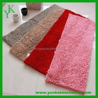 Washable Microfiber Chenille Bathroom Rugs / Carpets/ Mats