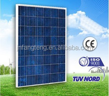 High Quality Sunpower Pv Modules For Commercial Use Polycrystalline 170W Solar Panel
