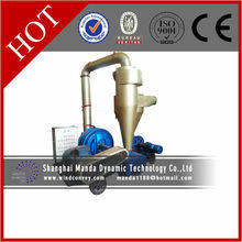 Plastics pellets vacuum suction machine workload 20 t/h powder 22 kw and distance 120 m negative pressure suction conveying