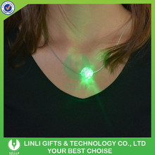 Favorable Cheap Flashing Necklace Toys With LED, Colorful Light Party Necklace Toys With LED