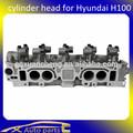 Para hyundai h100 partes de automóviles, hyundai culata, la cabeza del cilindro para hyundai/h100 2.4l 8v g4cs