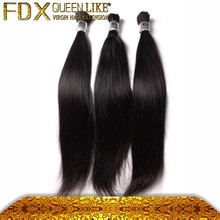 Non weft deep wave human hair for micro braids