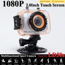 2015 new fashion 2. 0 inchTFT touch LCD WIFI HD wifi sport camera