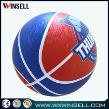 stocking a lot deflated basketball as prize