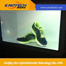 Transparent LCD display box indoor sport \wine