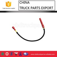 Weichai WP12 CNG engine part high tension cable high voltage cable 612600190948