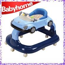 2015 hot sale new design racing car baby walker for big babies