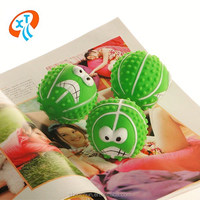 good quality squeaky ball vinyl dog toys pet toys
