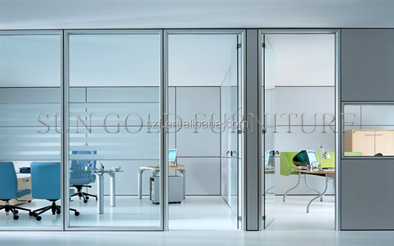 high glass partition wall office furniture office partition sz ws038