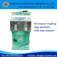 shoe making machine-Manual Roughing Machine/manual stoning and roughing machine with dust collector