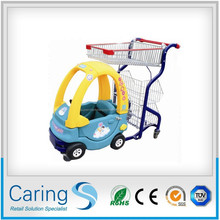 beautiful shopping trolley for kids used in supermarket CA-001
