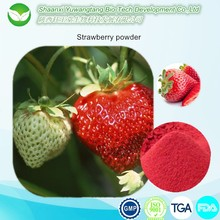 Natural strawberry powder extract,GMP Certificate strawberry extract powder 4:1 10:1