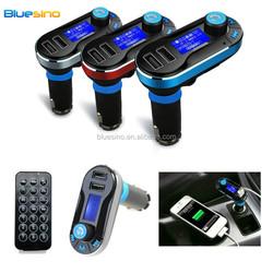 2015 new car kit mp3 player bluetooth handsfree fm transmitter modulator with usb tf