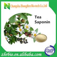 GMP manufacturer natural tea saponins pure camellia seed extract tea saponin