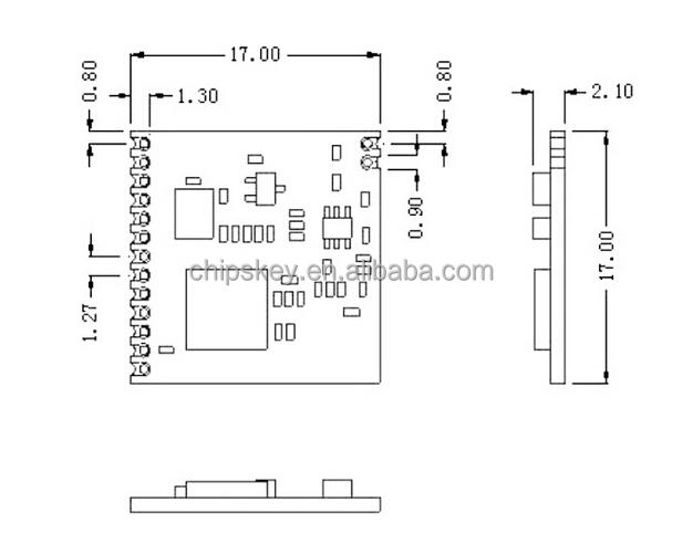 sx1276 sx1278 module drf1278f lora spreading