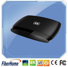 FiberHome Quad core 4K support Bluetooth Android 4.4 Set top box
