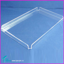 Clear Acrylic Extra-Large Square Beverage Martini Drink Serving Tray
