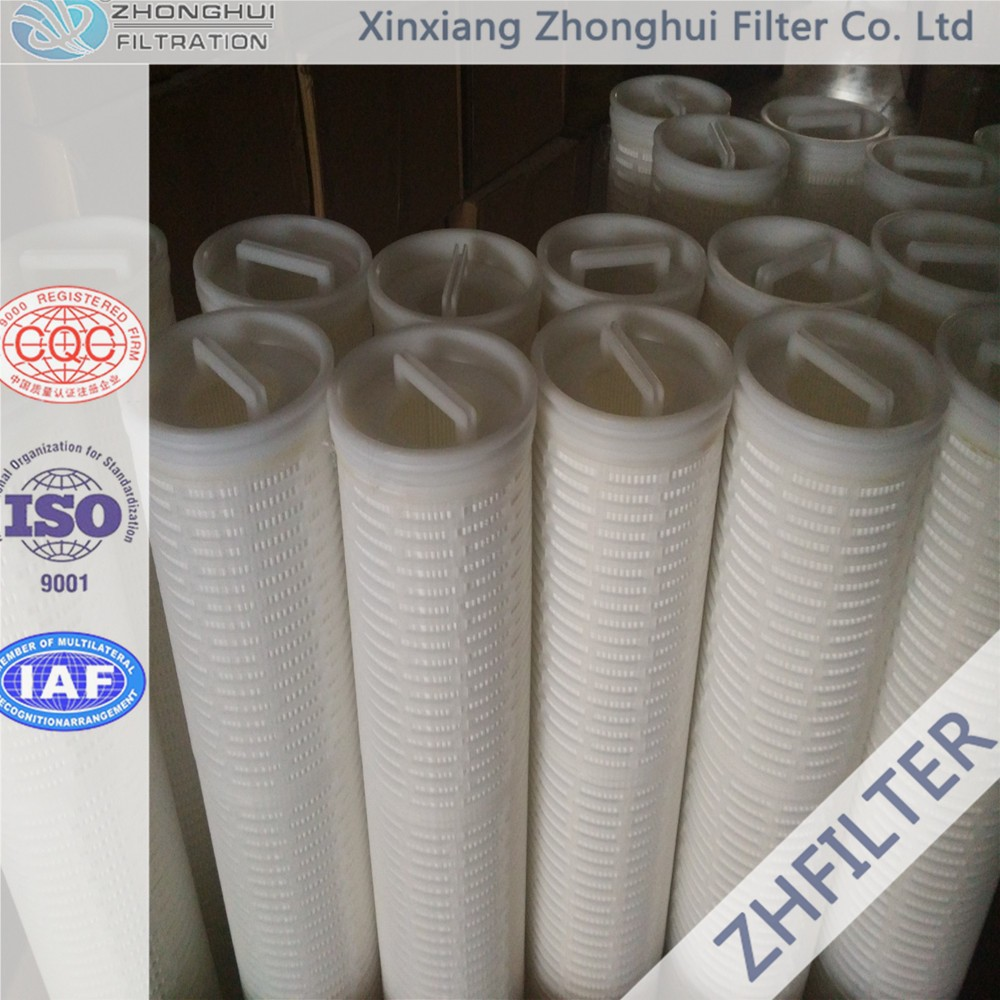 Replace Pall Ultipleat High Flow water filter element HFU640UY020