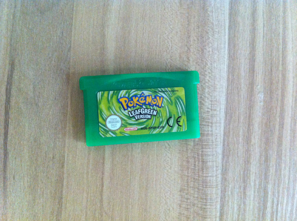 Uk Eur Stickers For Pokemon Games Emerald Fire Red Leaf