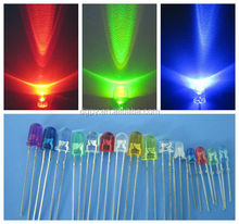 Through-hole 3mm 5mm LED Diodes