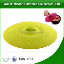 Silicone Suction Lids and Food Covers - Fits cups, bowls, pans, or containers