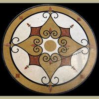 Laminate Marble Flooring Marble Inlay Flooring Design MM08
