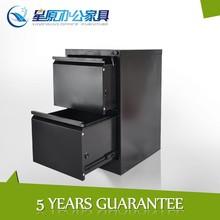 Modern assembled 2drawer metal files locker cabinet custom made office furniture