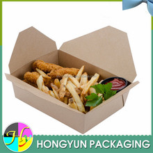 chinese wholesale Disposable fast food box, food packing box