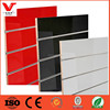 Practical decorative wall panels, slotted mdf board