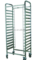 APEX restaurant kitchen barbecue tray stainless steel layer shelves/stainless steel kitchen utensil rack trolley