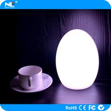 Super bright color change wireless LED decorative light up ball / fancy LED magic egg ball light
