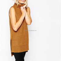 Clothing women 2015 fancy ladies sleeveless tunic tops HST3479
