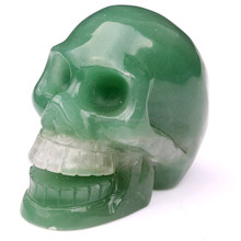 Bulk of Carved crystal stone Decorative Skull hand carved crystal skulls