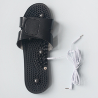tens electric stimulator massage slipper for foot massage and blood circulation
